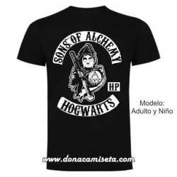 Camiseta Sons of Alchemy (Harry Potter)