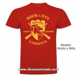 Camiseta Gryffindor Quidditch Team Captain (Harry Potter)