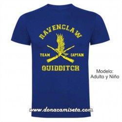 Camiseta Ravenclaw Quidditch Team Captain (Harry Potter)