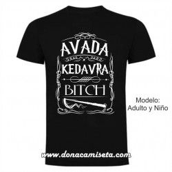 Camiseta Avada Kedavra (Harry Potter)