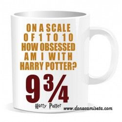 Taza Harry Potter Obsessed