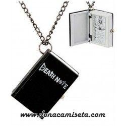 Reloj colgante libro Death Note