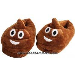 Zapatillas Emoticonos Caca