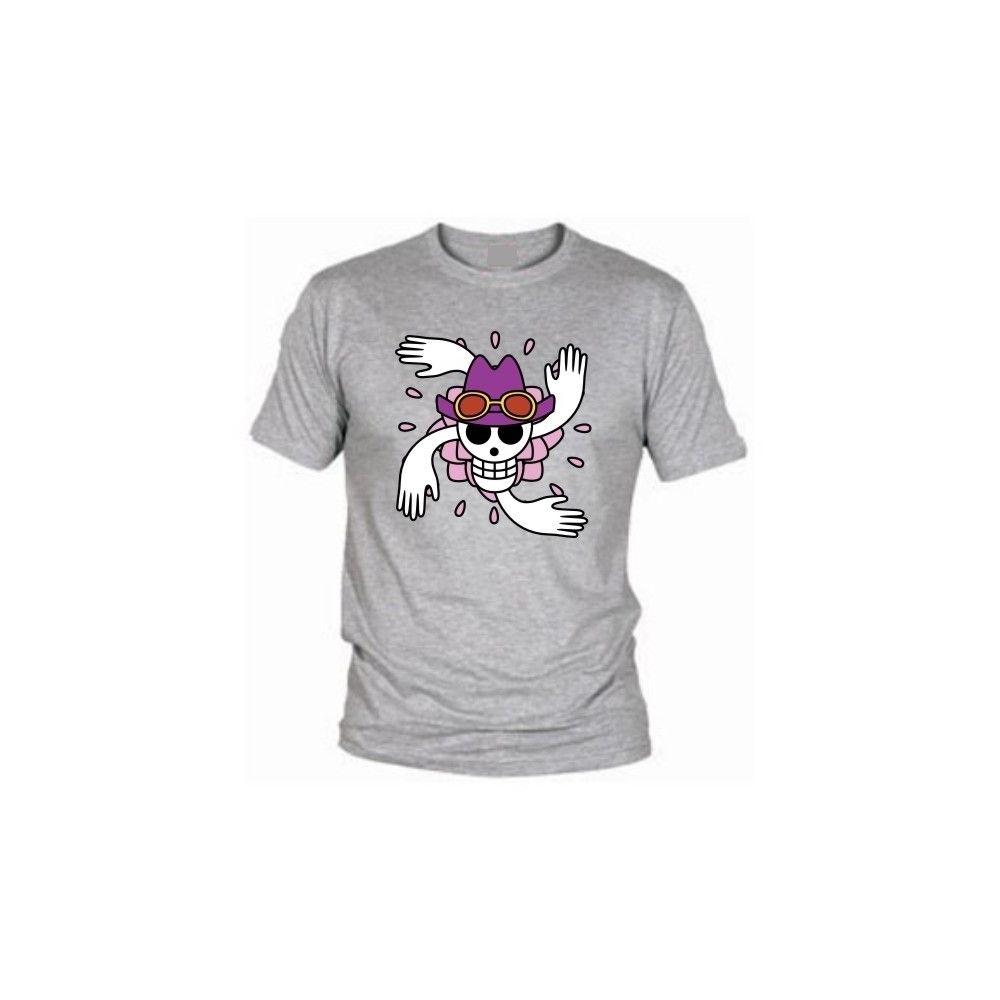 Camiseta MC Unisex One Piece Robin Flag