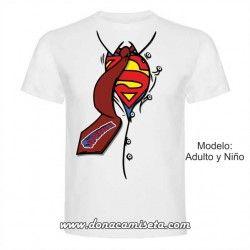 Camiseta camisa Superheroe Superpapá