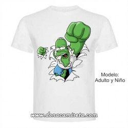 Camiseta Homer Hulk