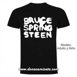Camiseta Bruce Springsteen Logo