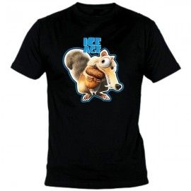 Camiseta MC Unisex Ice Age Scrat