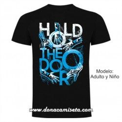 Camiseta Hold the door manos