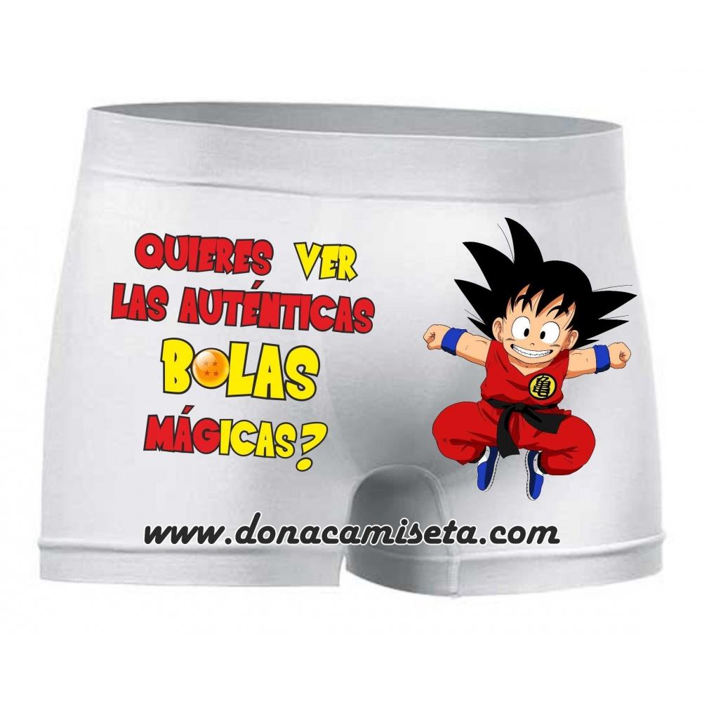 Boxer Goku Bolas Mágicas