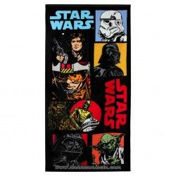 Toalla Star Wars personajes