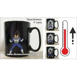 Taza térmica Vegeta Dragon Ball