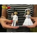 Figuras Goku y Chichi novios 12cm (Dragon Ball)