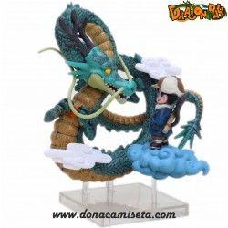 Figura Dragon Shenron con Son Goku