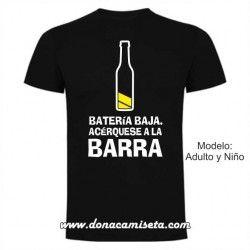 Camiseta Bateria baja