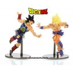 Pack 2 Figuras Dragon Ball Goku vs Bardock