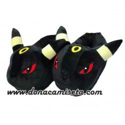 Zapatillas pokemon Umbreon cerradas