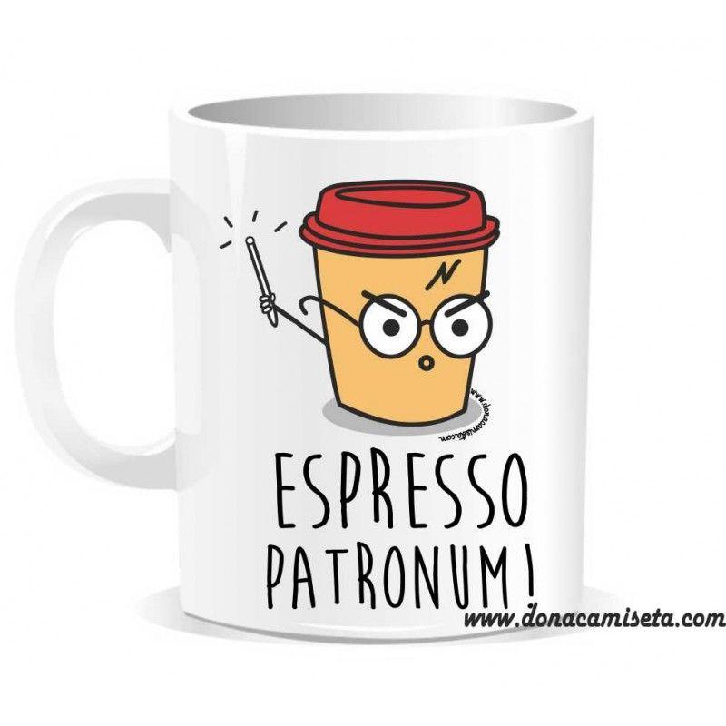 Taza espresso patronum harry for Tazas para espresso