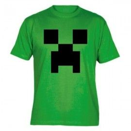 Camiseta MC Unisex Minecraft Creeper