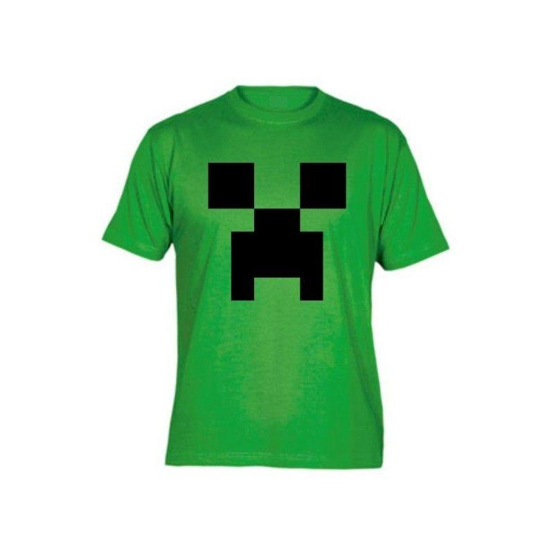 Camiseta MC Unisex Minecraft Creeper bfbcc983cdc