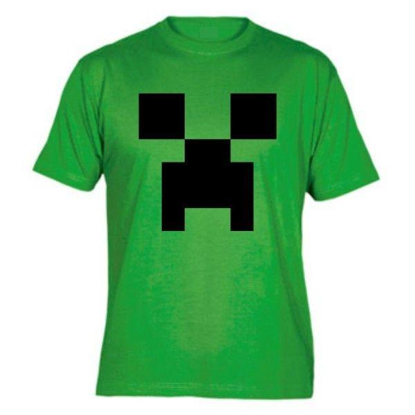 Camiseta Minecraft Creeper 799e285deb0