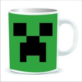 Taza Minecraft Creeper