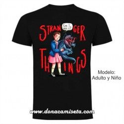 Camiseta Eleven monstruo (Stranger Things)