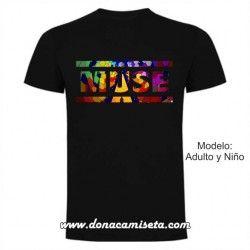 Camiseta Muse logo colores