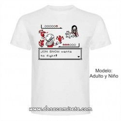 Camiseta Juego de Tronos Pixel