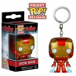 LLavero Funko Pop Iron Man