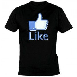 Camiseta MC Unisex Like Facebook