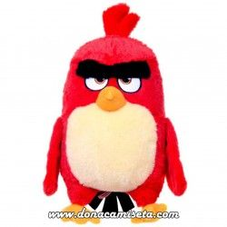 Peluche Angry Birds pájaro rojo 24cm