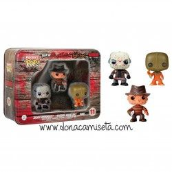Set 3 figuras Funko Pocket Pop Pack Horror