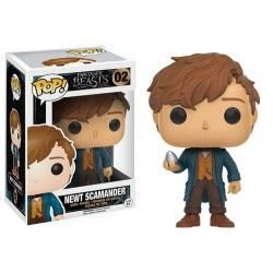 Figura Funko Pop HP Fantastic Beasts Newt With Egg