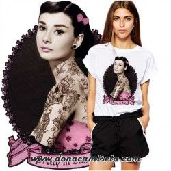 Camiseta Audrey Ink