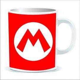 Taza Super Mario Logo M