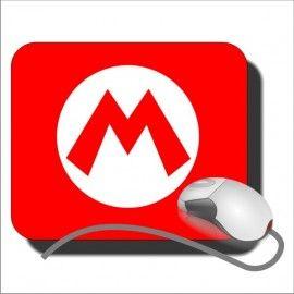 Alfombrilla Ratón Super Mario Logo M