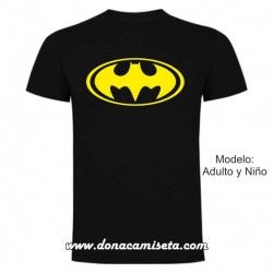 Camiseta logo Batman