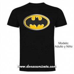 Camiseta logo Batman 3D