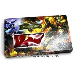 Estuche de armas League of Legends 11 piezas