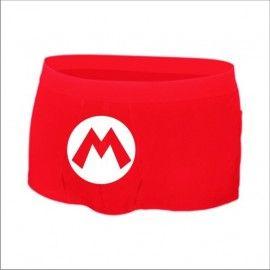 Boxer Super Mario Logo M