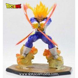 Figura Vegeta Super Saiyan fuego