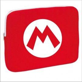 Funda Ordenador Super Mario Logo M