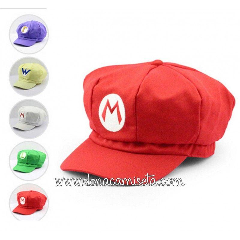 798e67c3b79b3 Gorra Super Mario y Luigi ...
