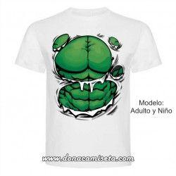 Camiseta torso Hulk