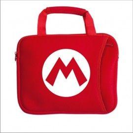 Funda Ipad / Ordenador Super Mario Logo M