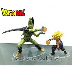 Pack 2 Figuras Dragon Ball: Celula vs Son Gohan