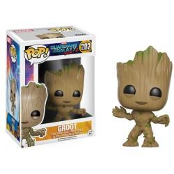 Figura Funko Pop Guardians Galaxy Groot 202