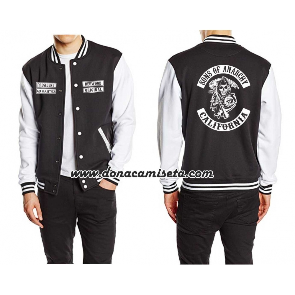 Chaqueta beisbolera Sons of Anarchy efef700c7c5a1