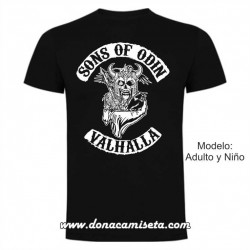 Camiseta Sons of Odin Valhalla (Vikings)